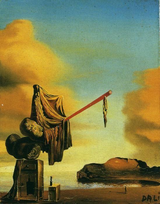 Horror Famous Dali Paintings