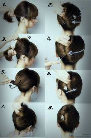 easy wedding hairstyles medium