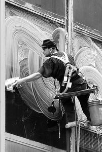 19 best images about Window Cleaners of the Past on Pinterest  Washers Safety and Ramen