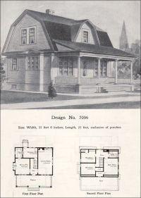 Dutch Gambrel House Plans Dutch Colonial House Plans At ...