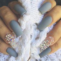 17+ best ideas about Rhinestone Nails on Pinterest ...