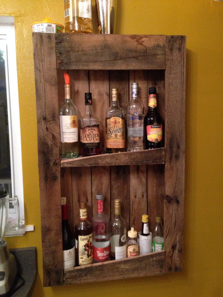 1000+ images about Whiskey Shelf Ideas on Pinterest