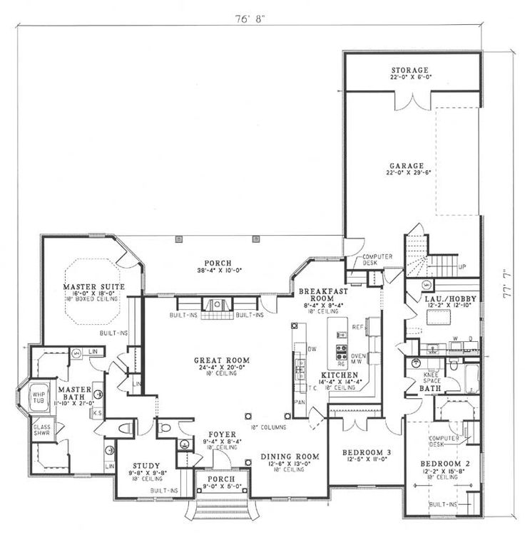22 best images about L shaped house plan ideas on