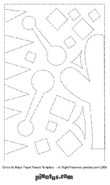 How to Make Papel Picado Free Printable Papel Picado