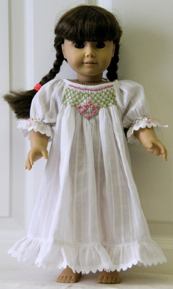 Emily Nightgown and Pyjamas PDF pattern for 18quot Doll 5