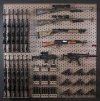 25+ Best Ideas about Gun Racks on Pinterest | Gun safe diy ...