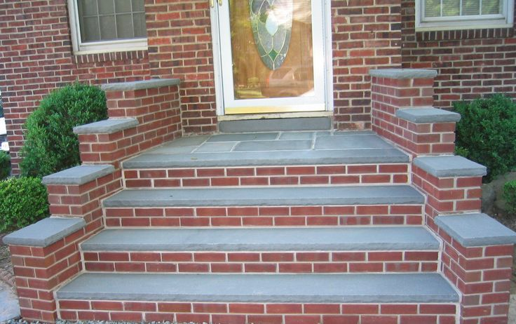 brick steps  Google Search  Home front entry  Pinterest  We Search and Walkways