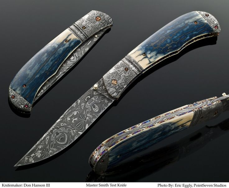Knife Made Of Bones And Antlers