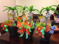 Safari Baby Shower Centerpieces #JantalFlowers | Safari ...