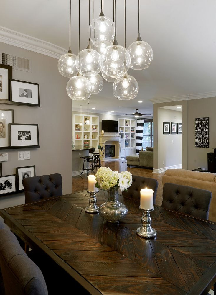 25 best ideas about Dining room lighting on Pinterest