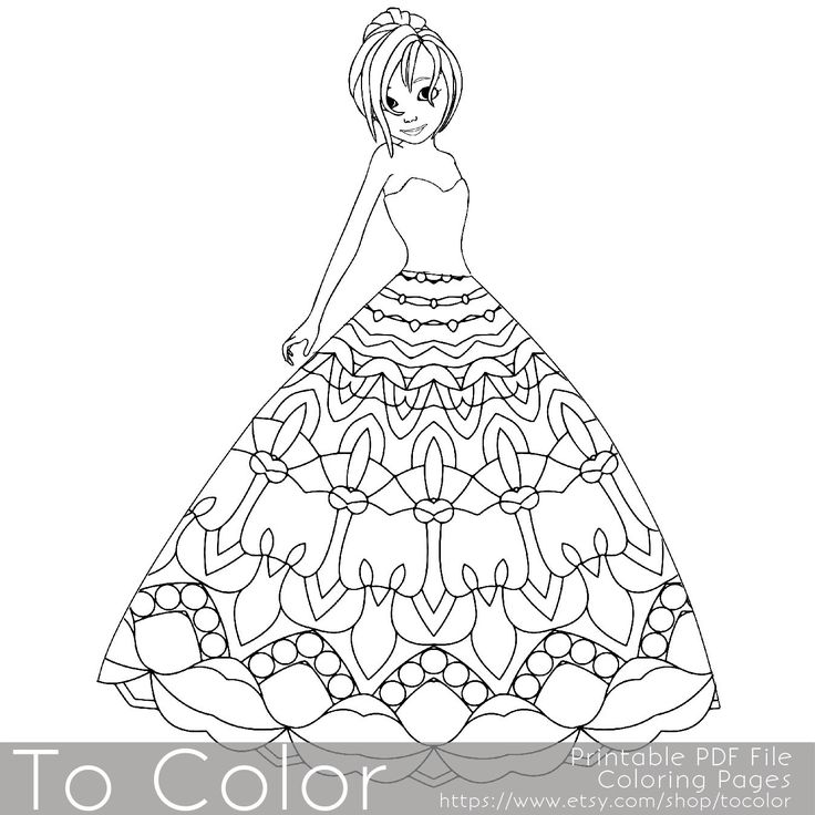 1000+ ideas about Princess Coloring Pages on Pinterest
