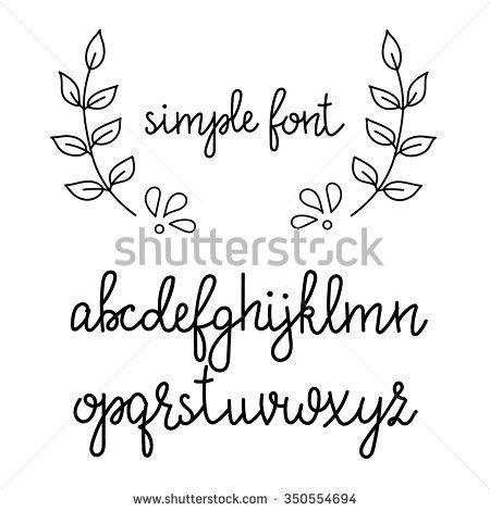 17 Best ideas about Cursive Fonts Alphabet on Pinterest