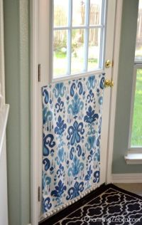 No-Sew Magnetic Window Covering | Waterproof fabric, Pets ...