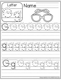 25+ best ideas about Letter g worksheets on Pinterest ...