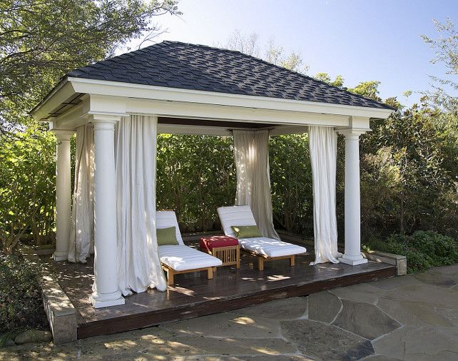 17 Best ideas about Backyard Cabana on Pinterest