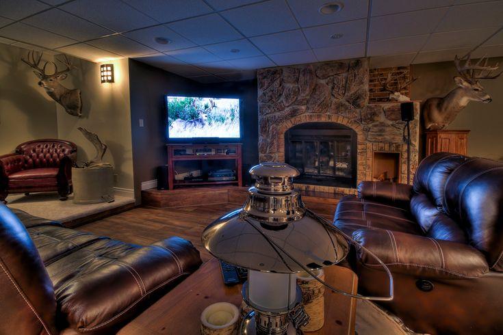 small living room entertainment center ideas home design photos trophy - alberta outdoorsmen forum | man cave ...