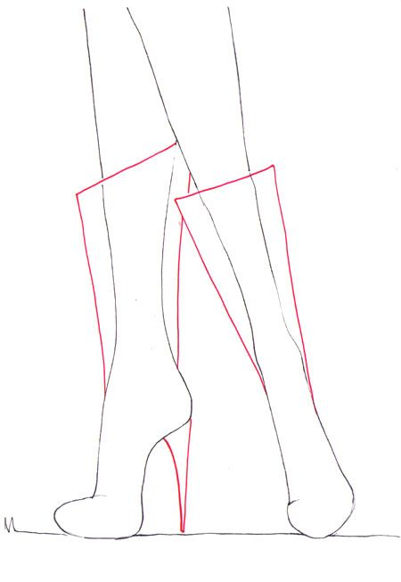 25+ Best Ideas about How To Draw Shoes on Pinterest