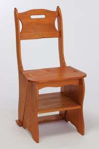 Library Step Stool Chair - WoodWorking Projects & Plans