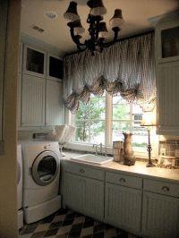 laundry room by James Webber, via Flickr   shabby chic ...