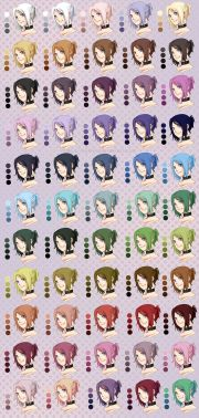 hair colour palette rueme