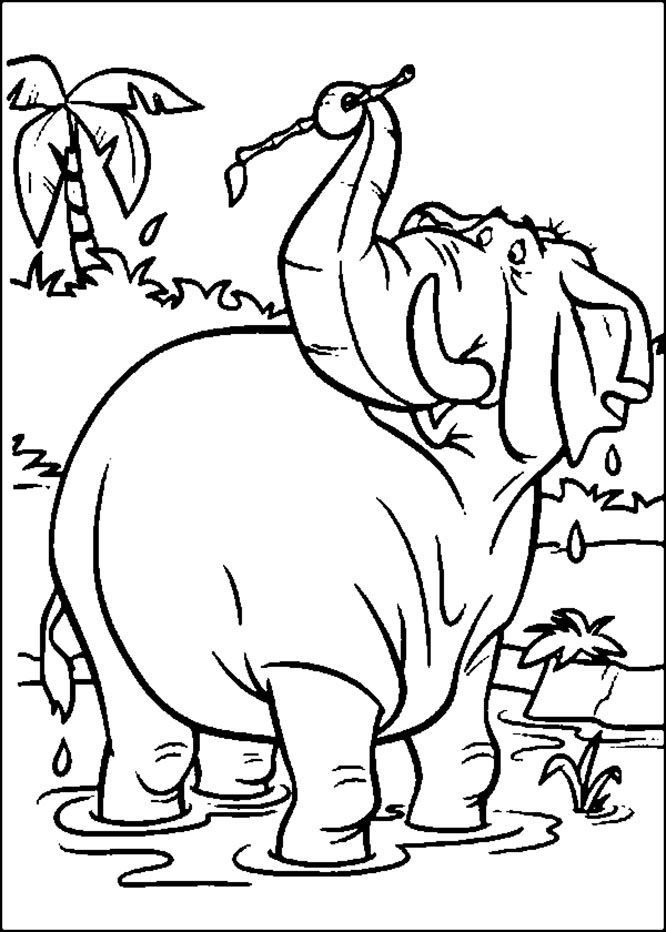 17 Best images about Jungle Book Coloring Pages on