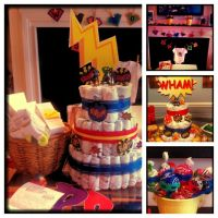 17 Best images about Comic book babyshower on Pinterest ...