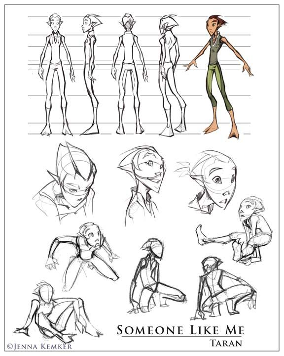 53 best Character Turnaround images on Pinterest