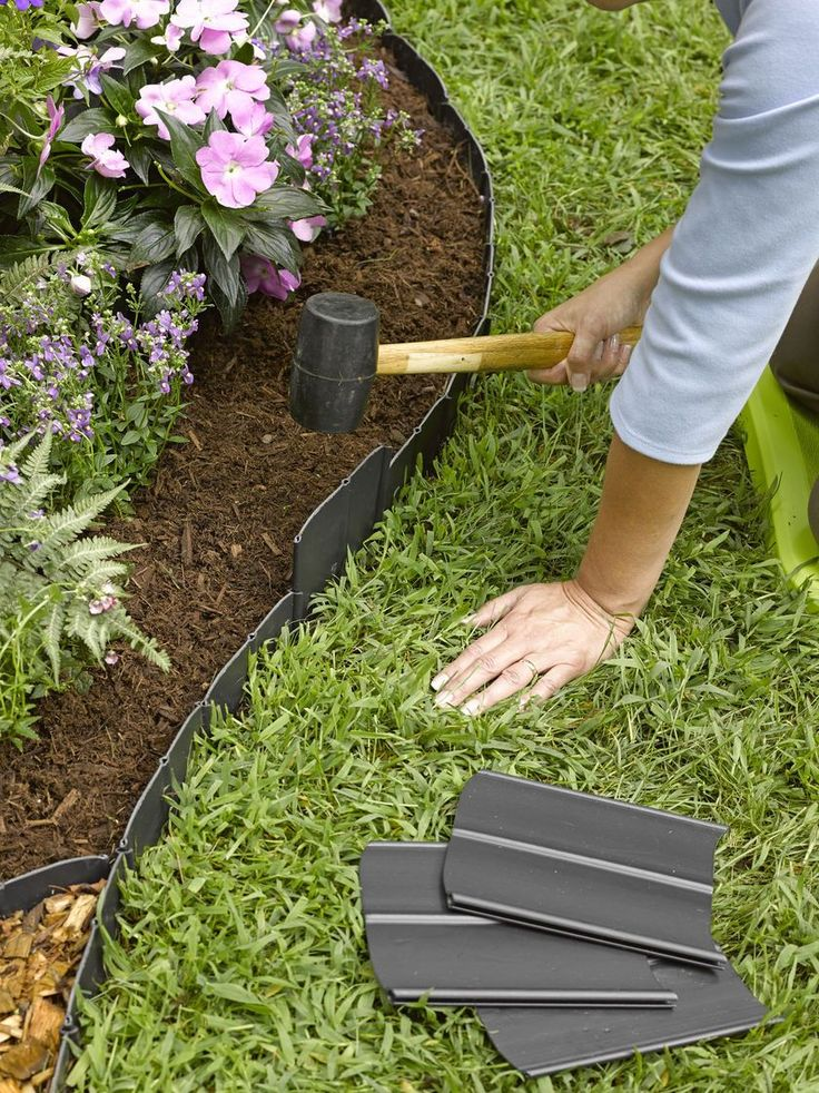 Best 25 Plastic Garden Fencing Ideas On Pinterest Plastic