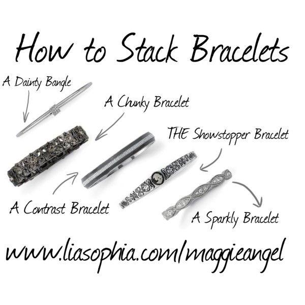 25+ best ideas about Stacking bracelets on Pinterest
