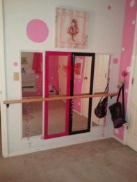 'Ballerina Bedroom' Mirrored with ballet bar. | Bedroom ...