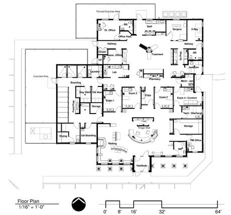 33 best images about Floor plans: Veterinary hospital
