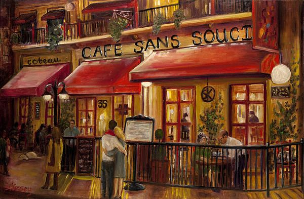 italian bistro kitchen decorating ideas utilities french cafe painting (print) | home decor pinterest ...