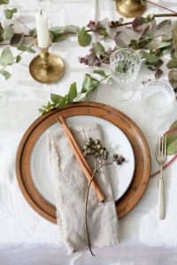 1000+ ideas about Thanksgiving Table Settings on Pinterest ...