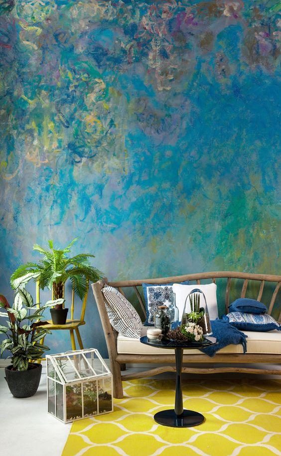 3d Effect Wallpaper For Living Room Best 25 Wallpaper Murals Ideas Only On Pinterest Wall