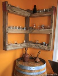 17 Best ideas about Corner Liquor Cabinet on Pinterest