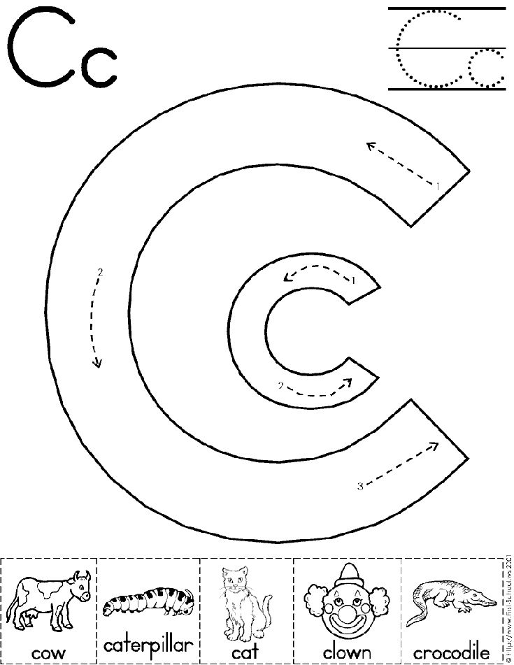 17 Best ideas about Letter C Preschool on Pinterest