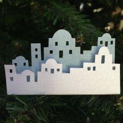 Kids Wood Kitchen Cabinet Ideas For Small Kitchens Skyline - Bethlehem. White & Light Blue Cardstock, Foam ...
