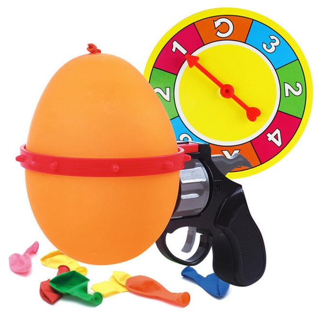 russian roulette toy balloon
