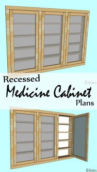 Medicine Cabinet Plans Free