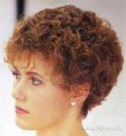 short hair perms classic perm