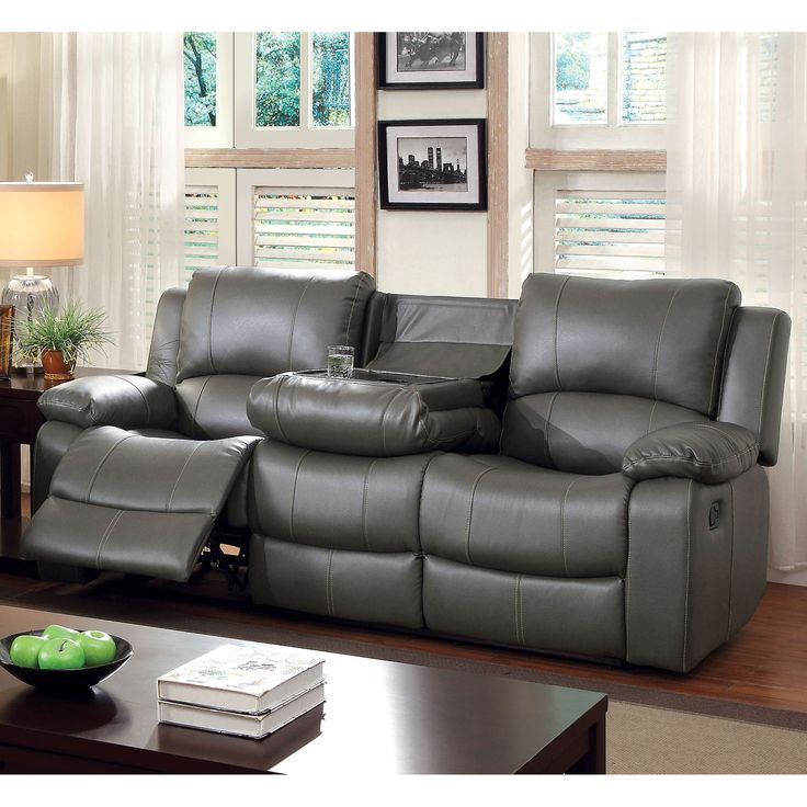 25 Best Ideas About Grey Leather Couch On Pinterest Modern