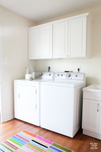 Mudroom Update: Installing Wall Cabinets | The white ...