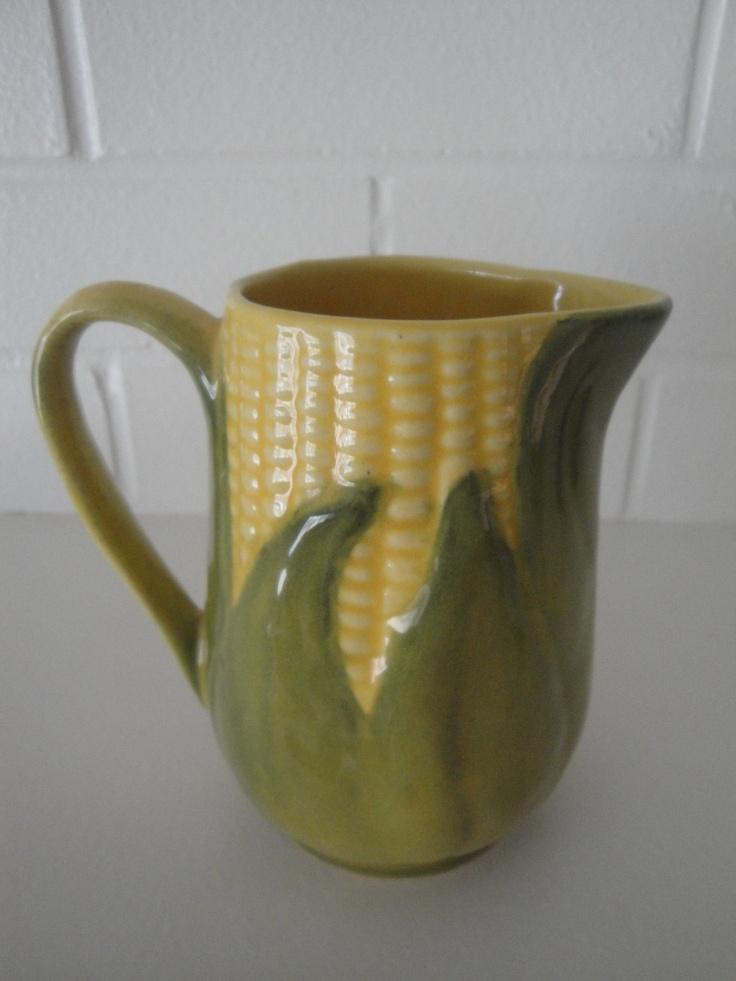 Vintage Shawnee Pottery Corn King 70 Creamer Pitcher circa 1950s  Shawnee pottery Vintage and King