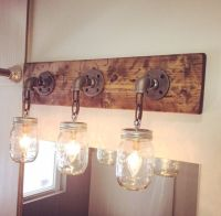 25+ best ideas about Rustic light fixtures on Pinterest
