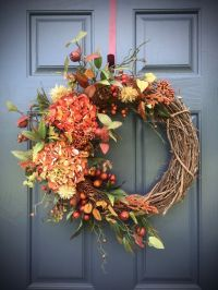 25+ best ideas about Fall door wreaths on Pinterest ...