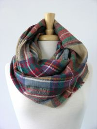 17 Best ideas about Plaid Infinity Scarf on Pinterest ...