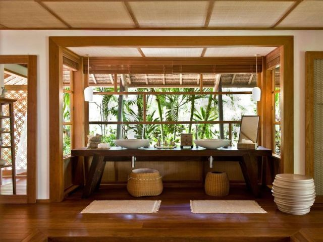Image result for Dedon Island, the Philippines bathroom