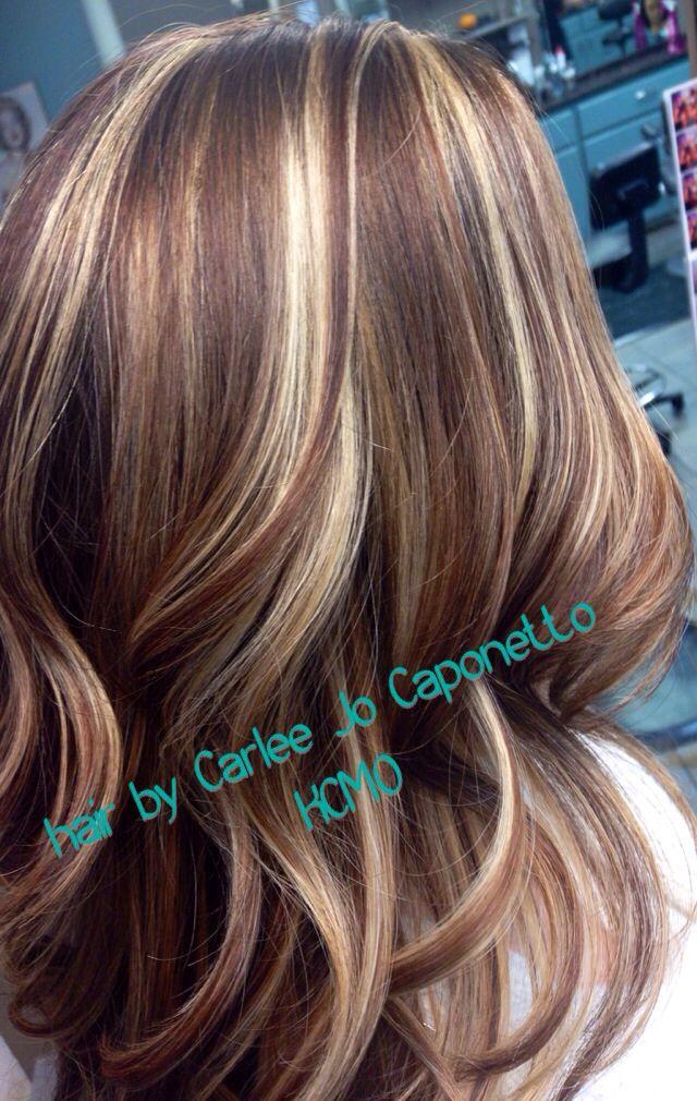 Highlight lowlight by me  Hair  Pinterest  Highlights