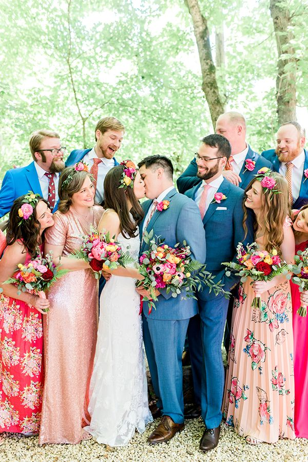 1000+ ideas about Bright Bridesmaid Dresses on Pinterest