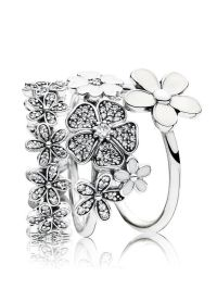 25+ Best Ideas about Pandora Rings Stacked on Pinterest